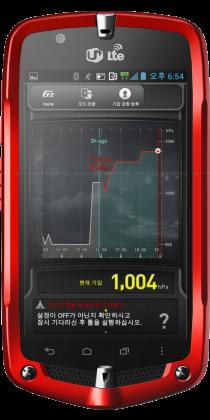 Casio G'Zone màu đỏ
