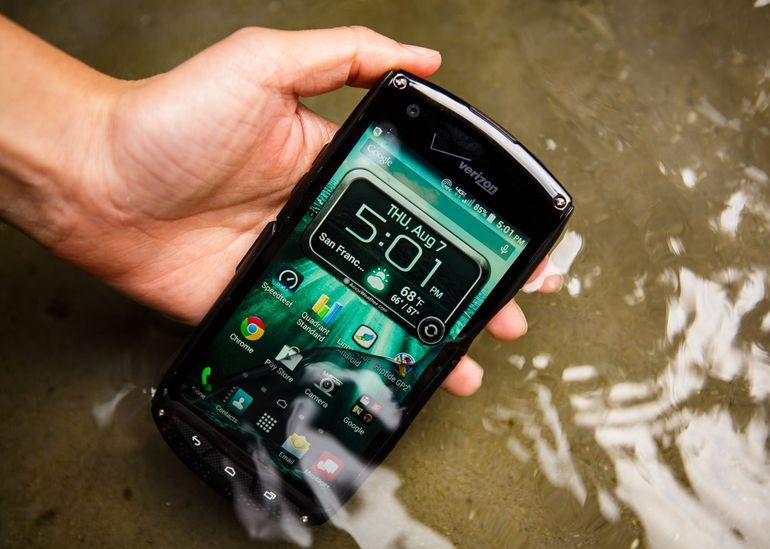 Điện thoại kyocera brigadie chống nước