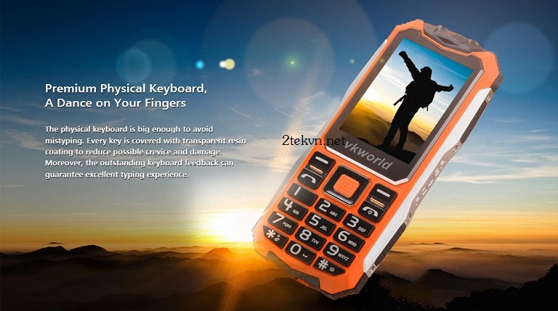 Điện thoại K888 nhiều màu