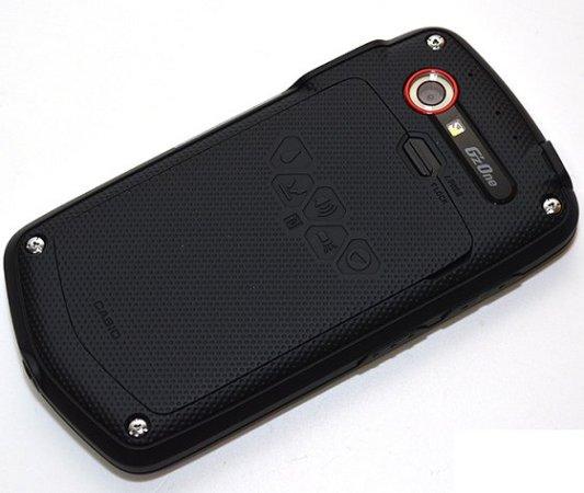 Mặt sau điện thoại Casio G'zone