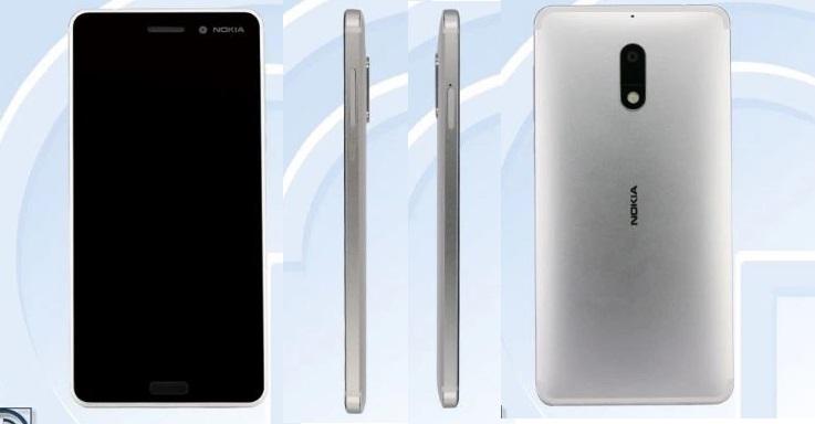 Nokia 6 bản màu bạc