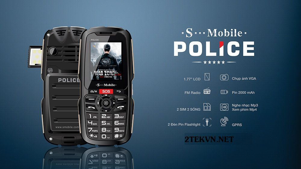 Điện thoại Smobile police