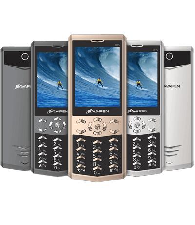 Điện thoại pin lâu bavapen b35