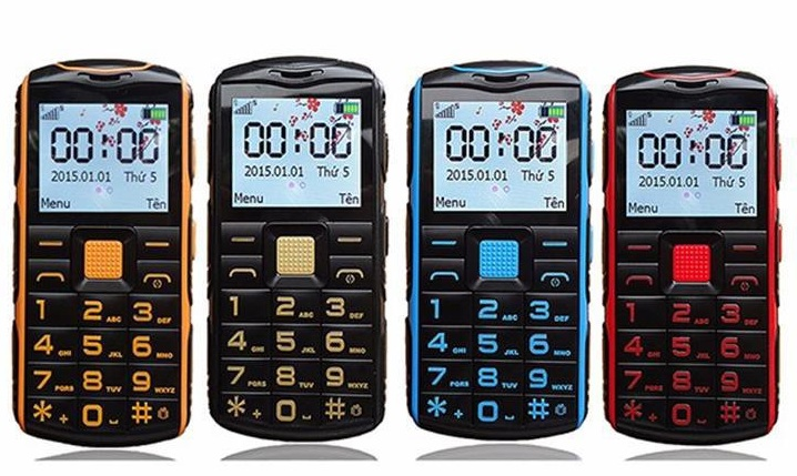 Điện thoại 2 sim 2 sóng cho người già