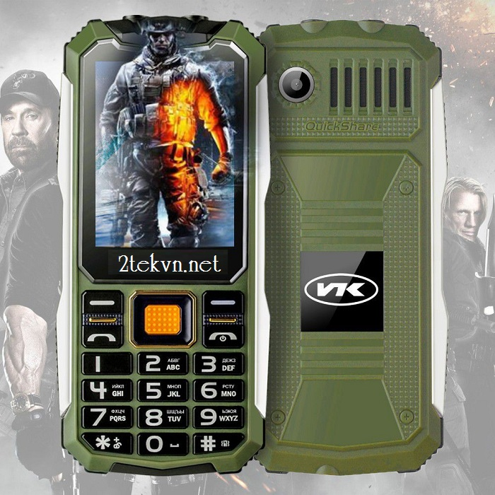 Điện thoại vogue S10 xanh lá