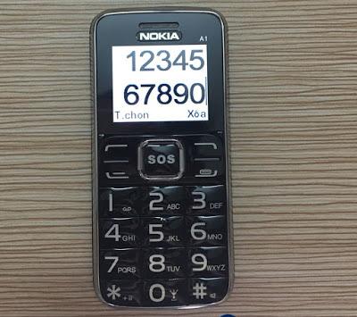 Điện thoại cho người già tốt nhất hiện nay A1