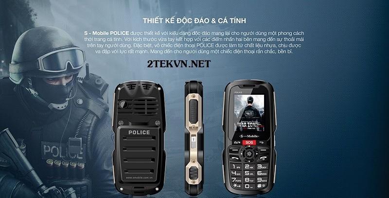 điện thoại pin 20 ngày police