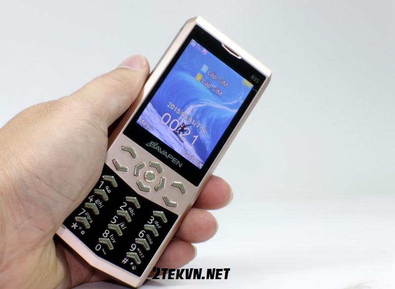 điện thoại pin khủng 30 ngày B35
