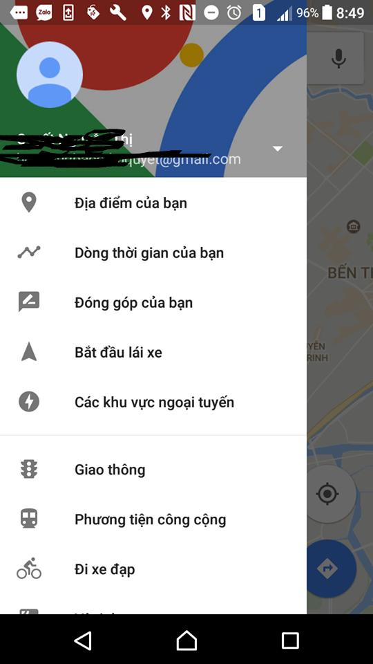 Bản đồ offline map miễn phí