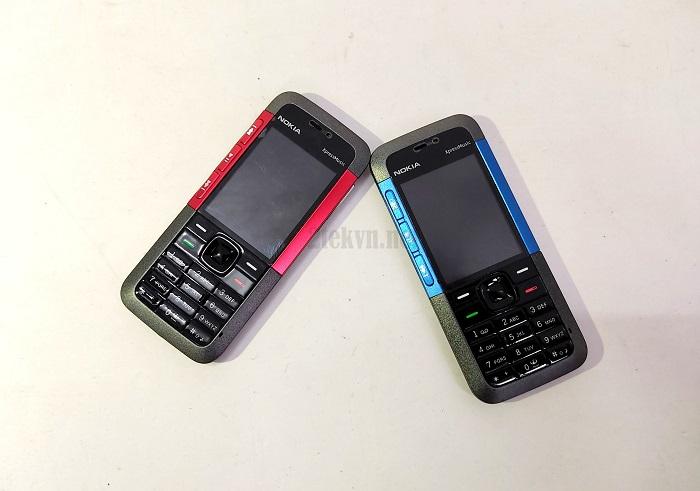 Điện thoại Nokia 4310 Xpressmusic xanh và đỏ