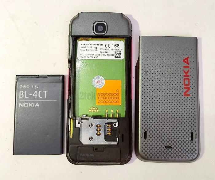 nokia 5310 sử dụng pin BL-4CT sử dụng được 2-3 ngày