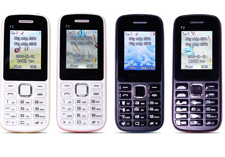 Điện thoại 2tek F2 có thay đổi giọng nói