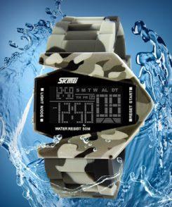 Đồng hồ led skmei quân đội