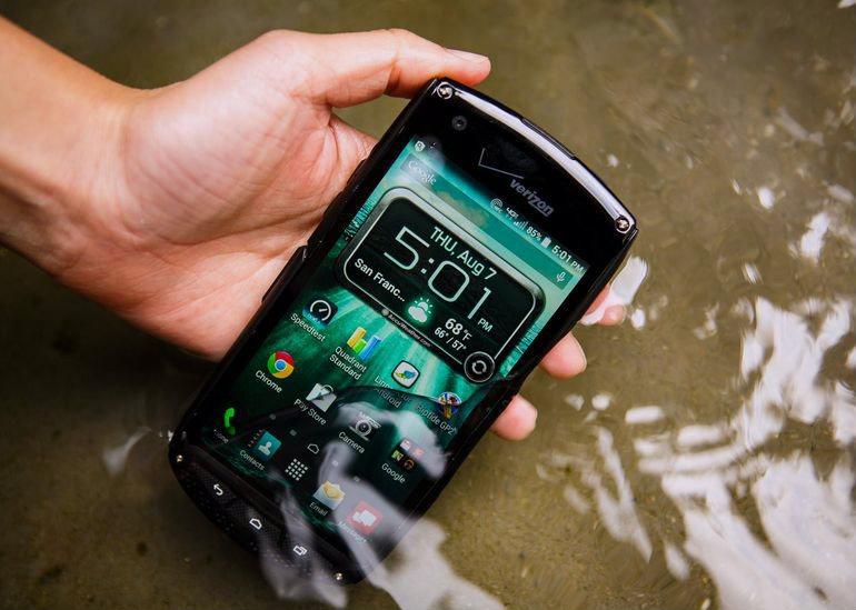 Điện thoại chống nước siêu bền