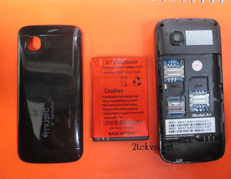Nokia A1 có pin khủng