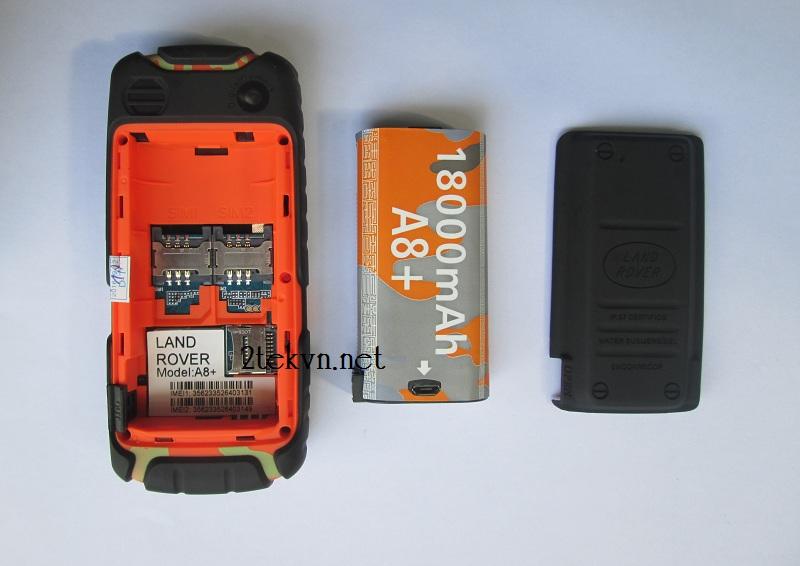 Pin điện thoại 18000mAh