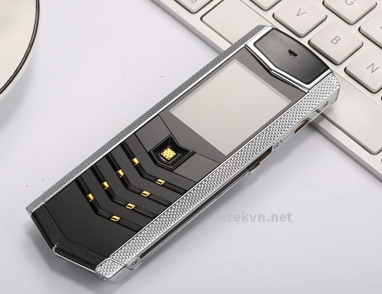 Điện thoại Vertu K9 bạc đen