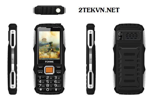 Điện thoại Forme gorilla màu đen