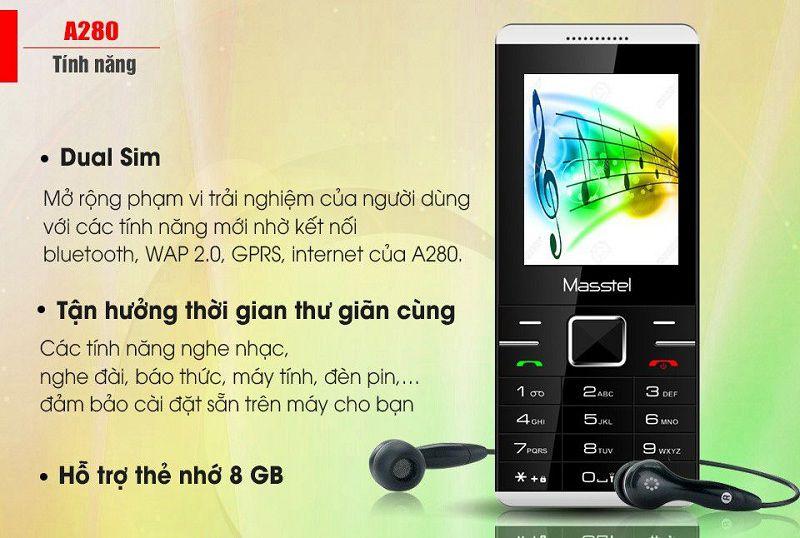 điện thoại giá rẻ dưới 500k A280