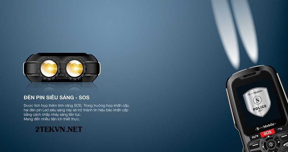 điện thoại pin khủng đèn pin 500k