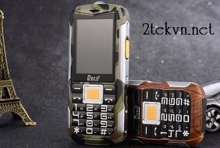 điện thoại siêu bền pin khủng c3000