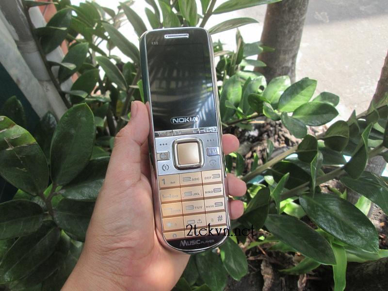 điện thoại pin khủng k60