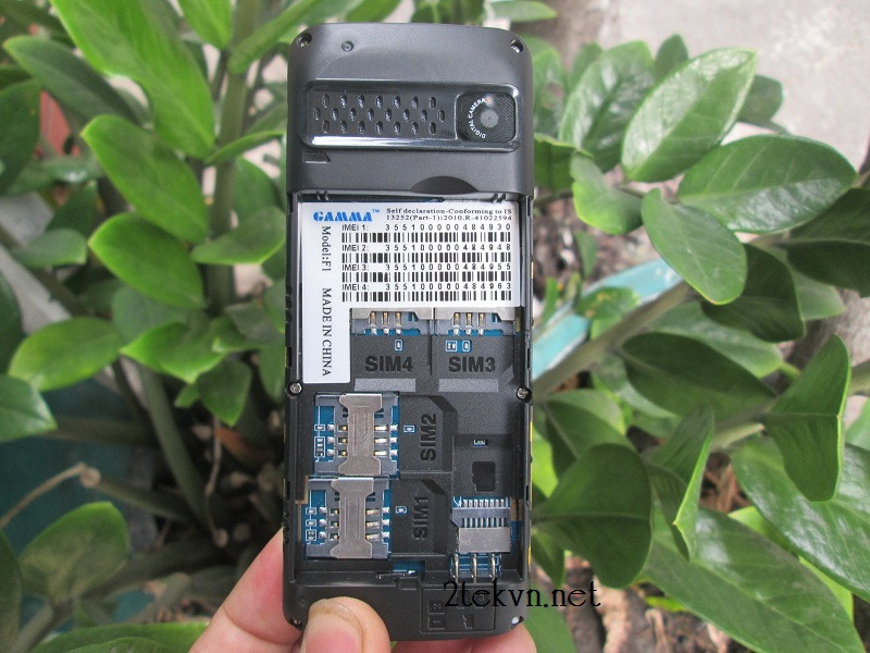 Điện thoại Gamma F1 4 sim