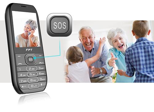 điện thoại cho người già FPT