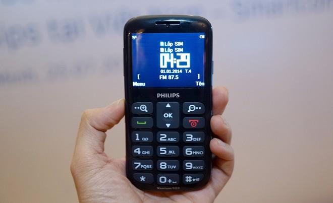 Điện thoại cho người già philip X2566