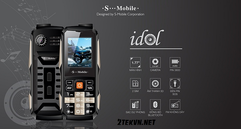 S-mobile idol pin trâu