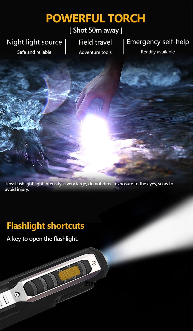 T19 đèn pin siêu sáng