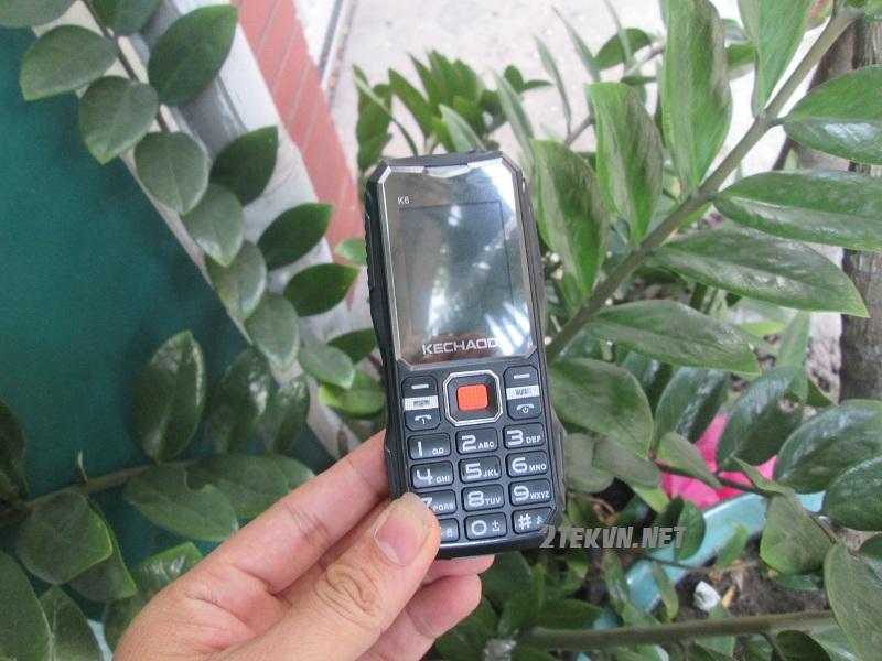 Điện thoại pin khủng 1 triệu K6