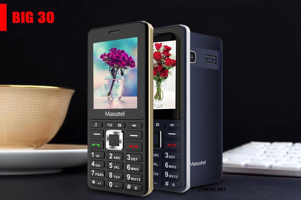 Điện thoại Masstel Big 30