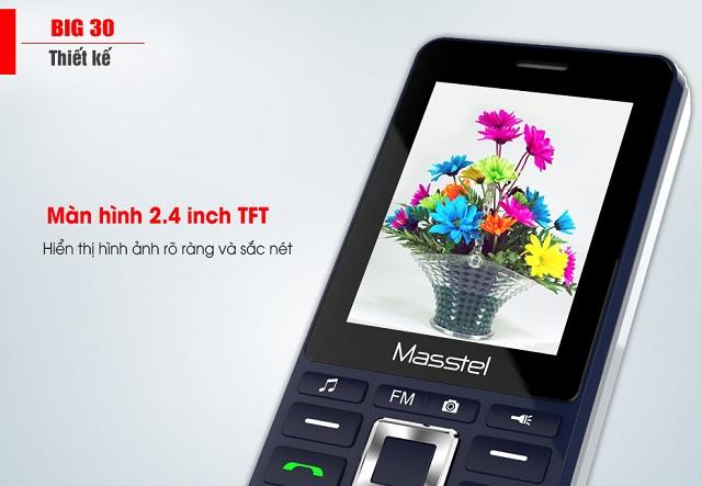 Màn hình điện thoại Masstel big 30