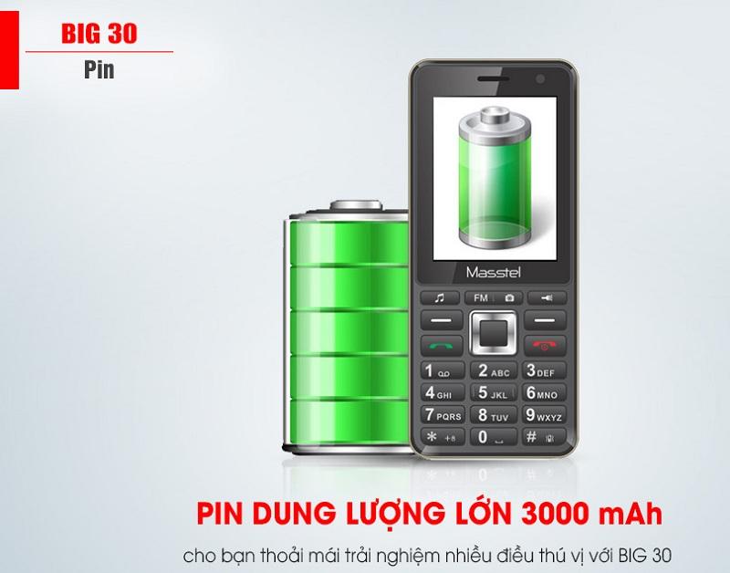 pin masstel big 30