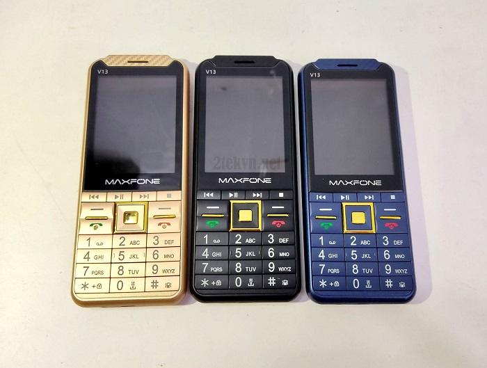 Maxfone V13 có 3 màu