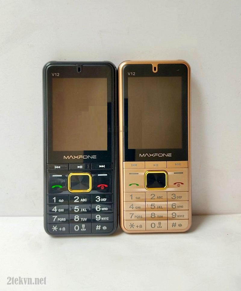 Điện thoại 4 sim mới nhất 2020 MaxFone V12