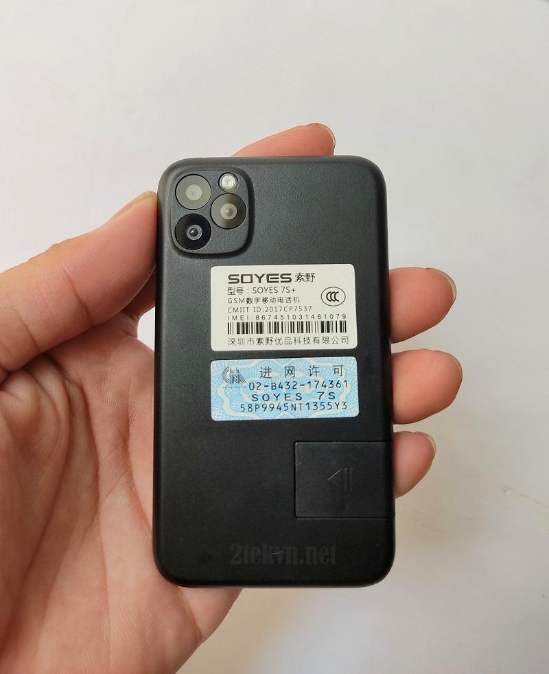 Điện thoại mini soyes 7s