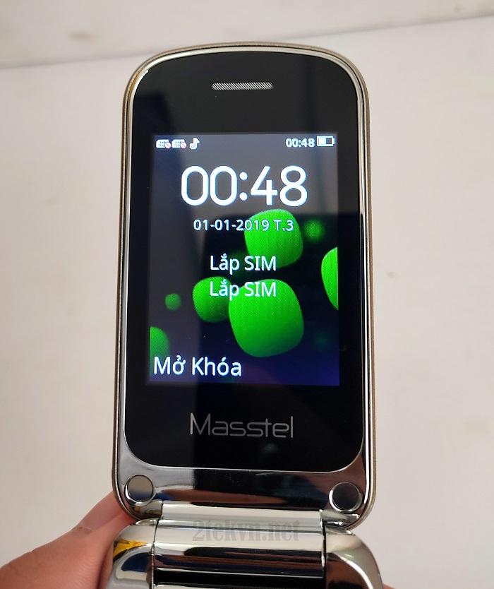 Màn hình của Masstel F50 hiển thị rõ nét