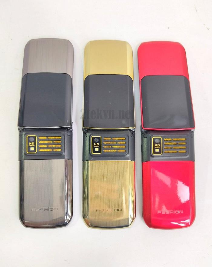 Các màu của điện thoại nắp gập TKEXUN