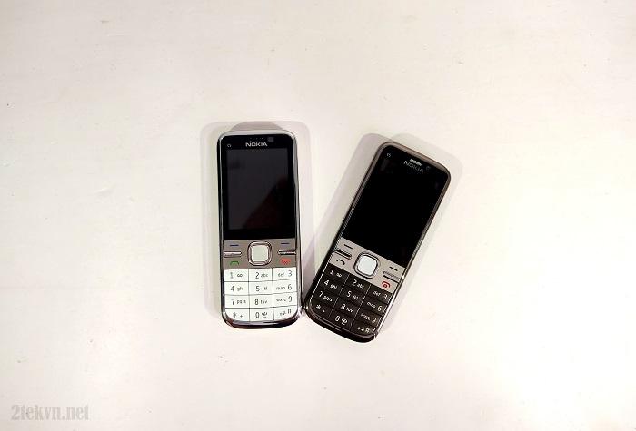 Nokia c5-00 có 2 màu