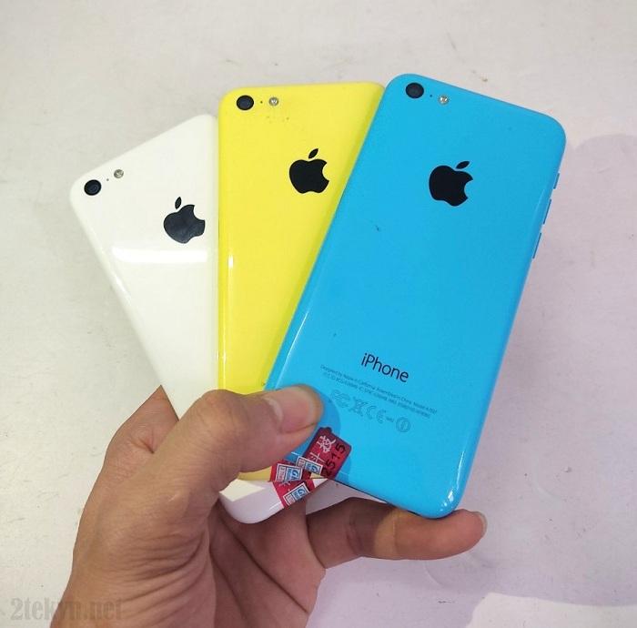 iphone 5c có nhiều màu sắc tươi sáng