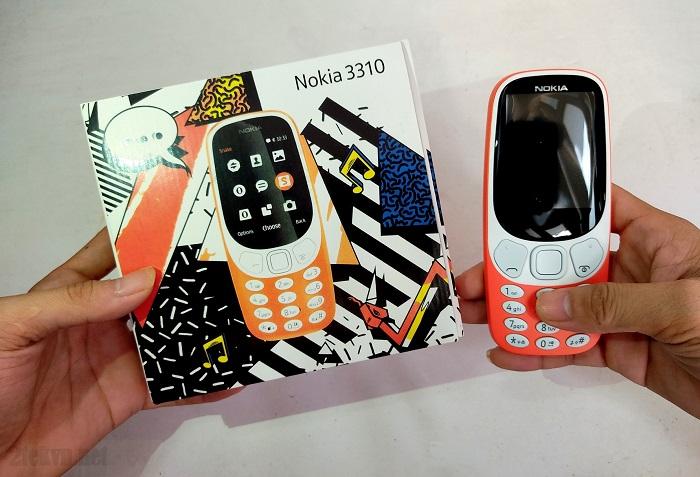 Full box chiếc điện thoại Nokia 3310