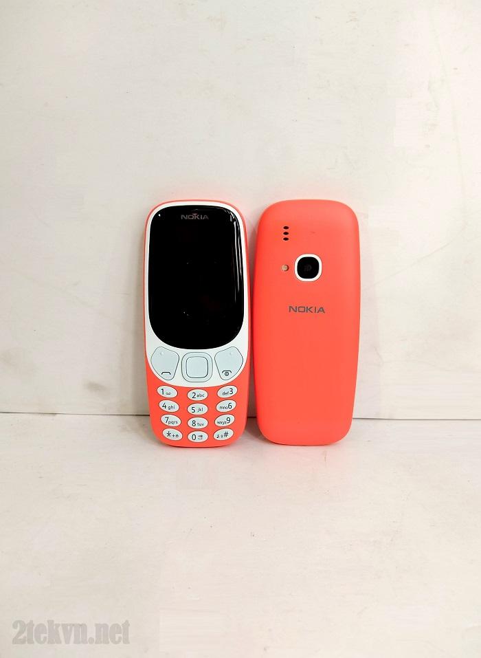 Mặt trước và sau của nokia 3310