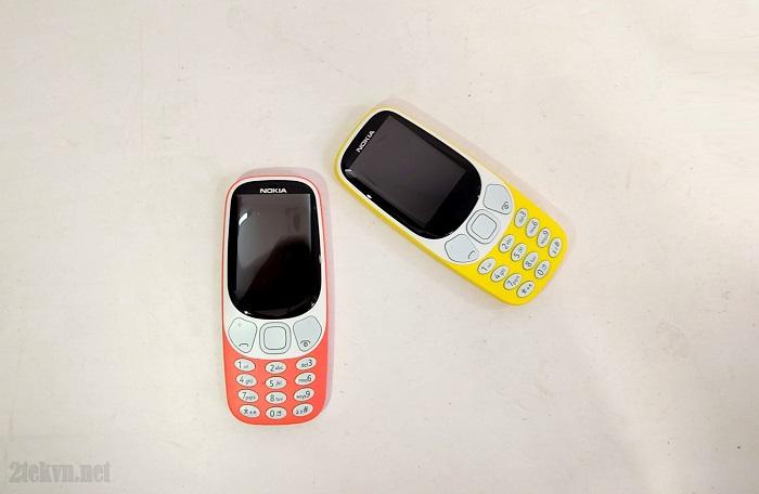 Nokia 3310 bản màu cam và vàng