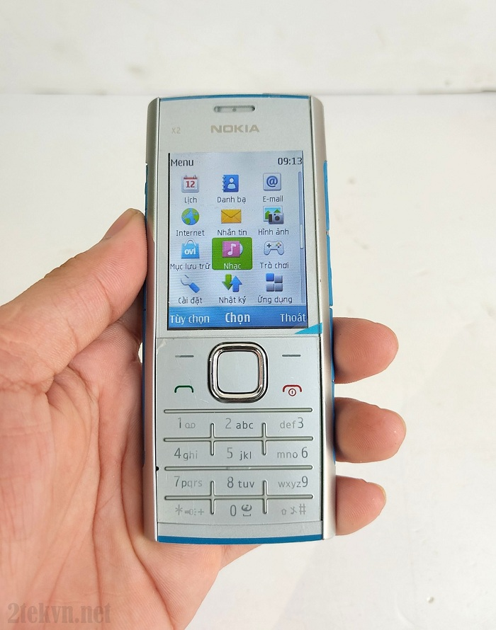 Nokia X2-00 sử dụng hệ điều hành S40 do Nokia phát triển