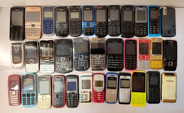 Một số mẫu điện thoại cổ tại 2tekvn