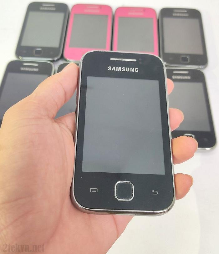 Trên tay chiếc Samsung Galaxy Y S5360