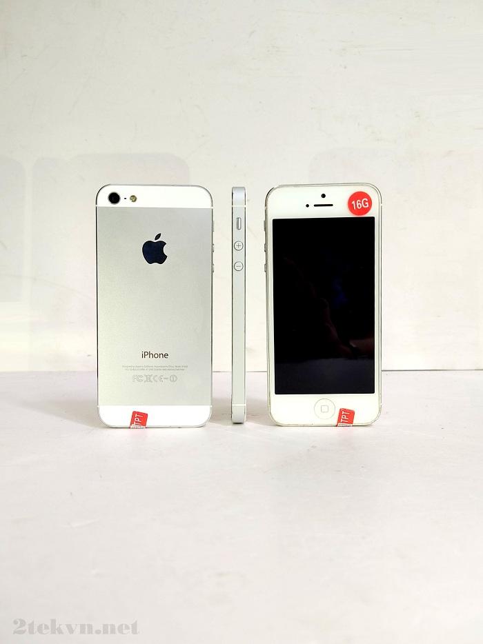 iPhone 5 16GB có thiết kế mỏng nhất từ trước tới nay của Apple