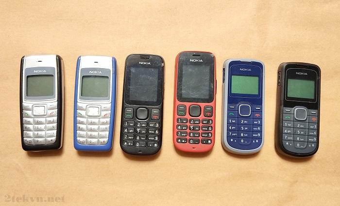 Một số mẫu Nokia cổ 1 sim giá rẻ tại 2tekvn